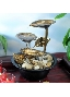 Buy Metal Leaves LED Table Fountain - Importwala.com